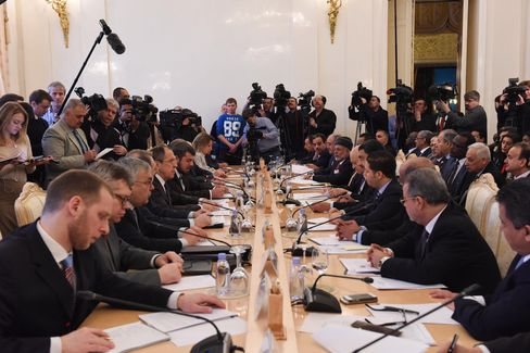 Russian-Arab Cooperation Forum in Moscow on Feb. 26