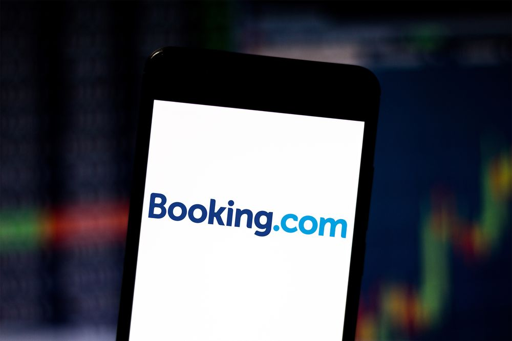 Buy  Booking.Com Booking Accommodations Color Options