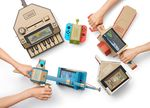 Cardboard accesories for the Switch console by Nintendo Labo.