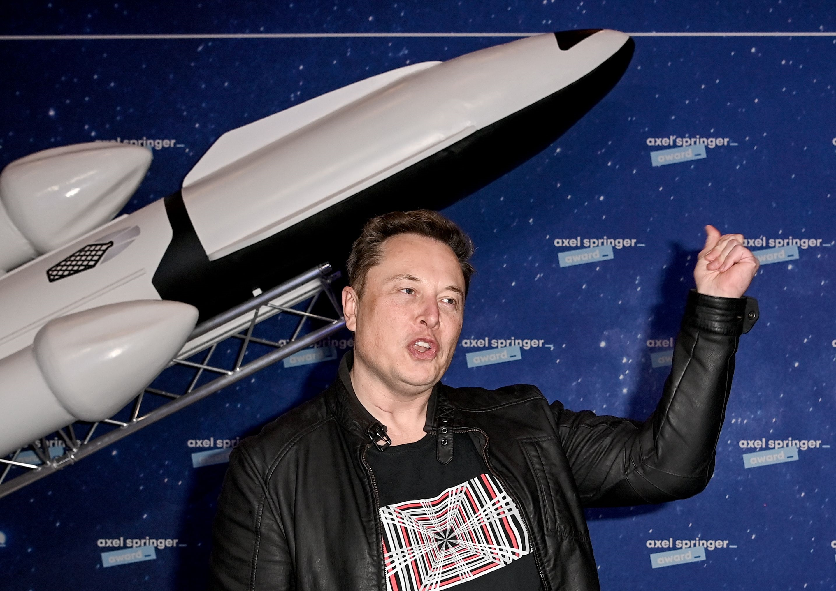 SpaceX founder and CEO Elon Musk