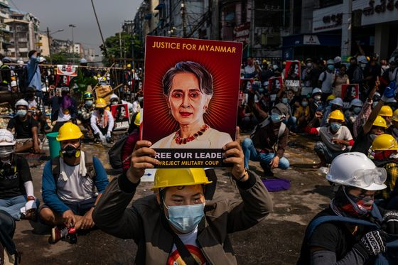 South Korea Condemns Myanmar Violence, Urges Release of Suu Kyi