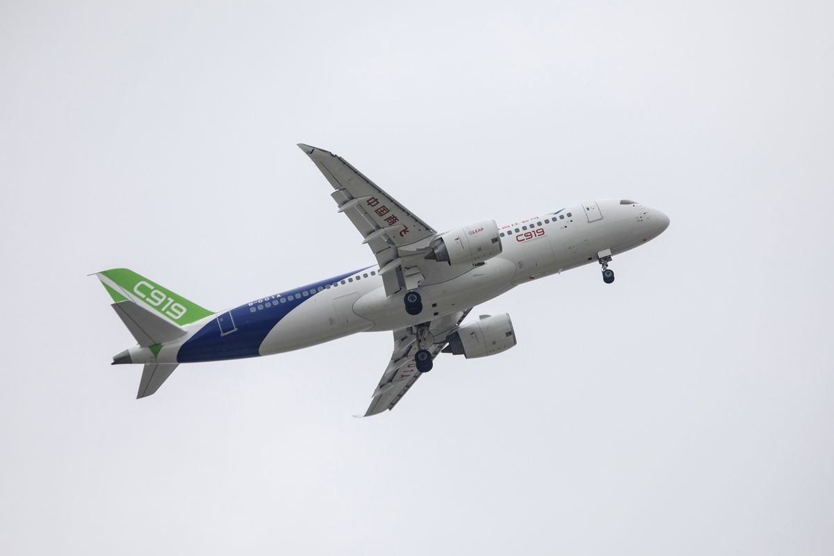 Airbus Sees China Muscling In on Rivalry With Boeing by 2030