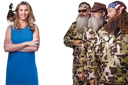 A+E Networks CEO Nancy Dubuc, the Duck Whisperer