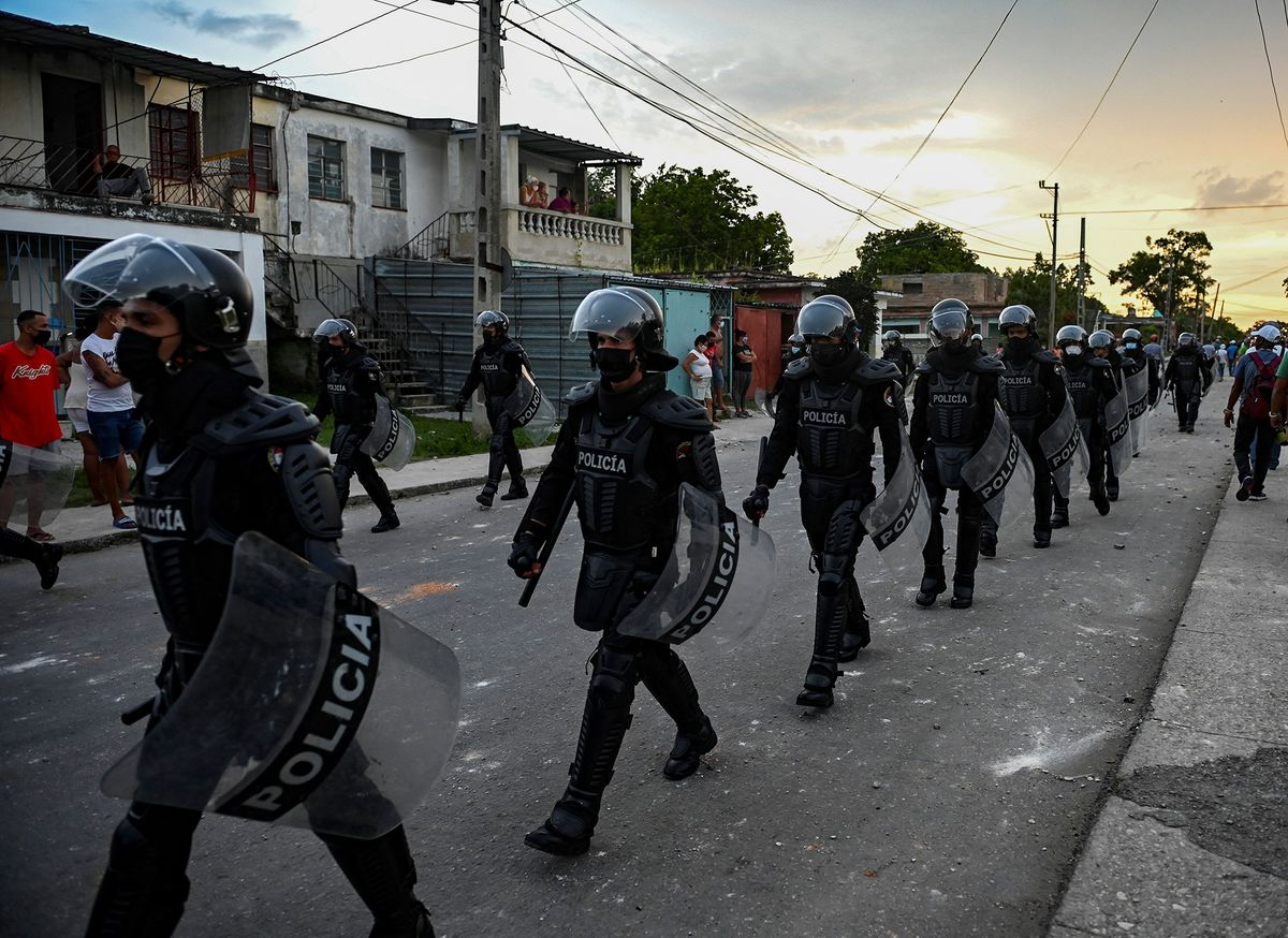 U.S. to Sanction Cuban Officials Behind Crackdown on Protesters