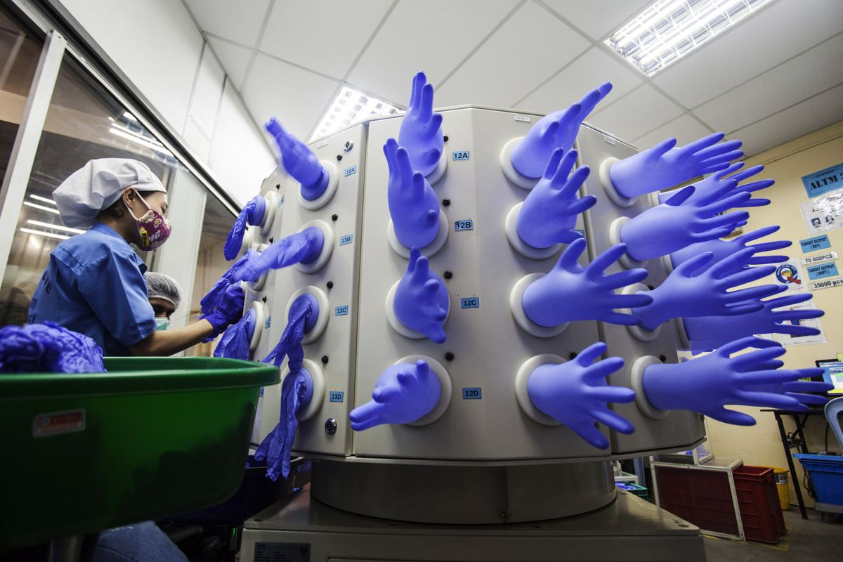 Why a Medical-Glove Panic Isn't Helping Rubber