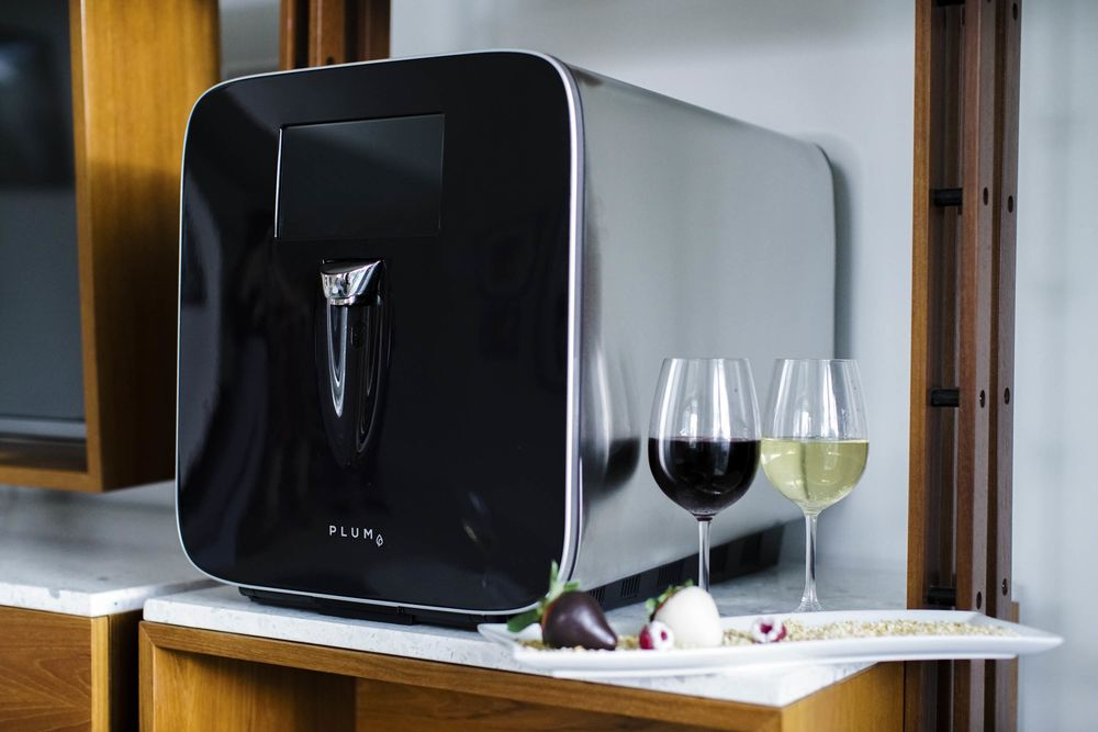 your next hotel room might have wine on tap bloomberg rh bloomberg com  how to make wine on tap at home