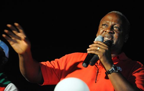 Ghana's Mahama Wins Presidential Election With 50.7% of Votes