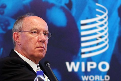WIPO Director-General Francis Gurry