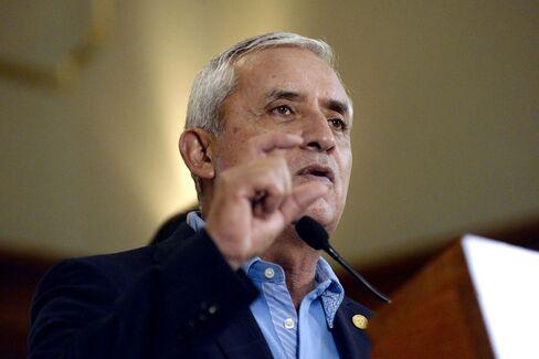Guatemala President Otto Perez Molina.
