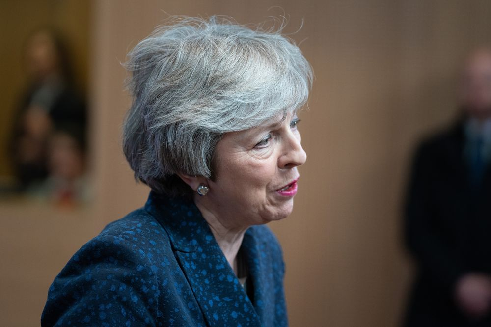 May Thanks Lawmakers Who Quit, Then Tells Them They're Wrong