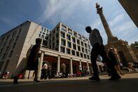 City Finance District As U.K. Prime Minister Faces Decisive Brexit Battle