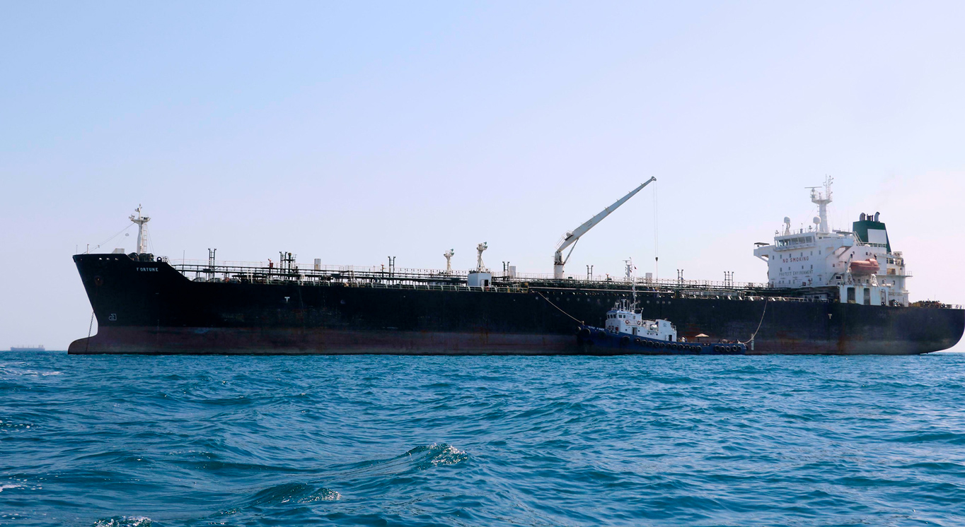What It's Like to Steer a Giant Tanker Through the Strait of Hormuz