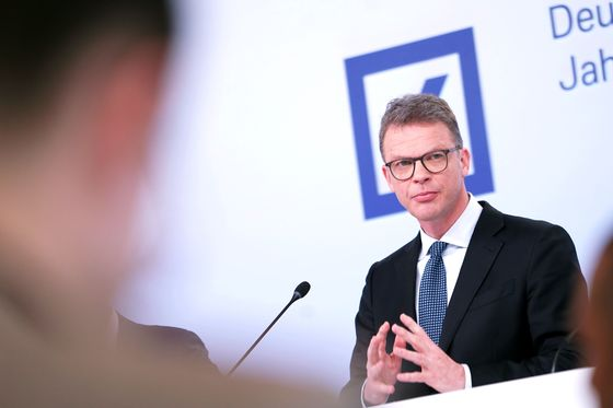 Deutsche Bank's Sewing Says He's Laying Groundwork for Deals