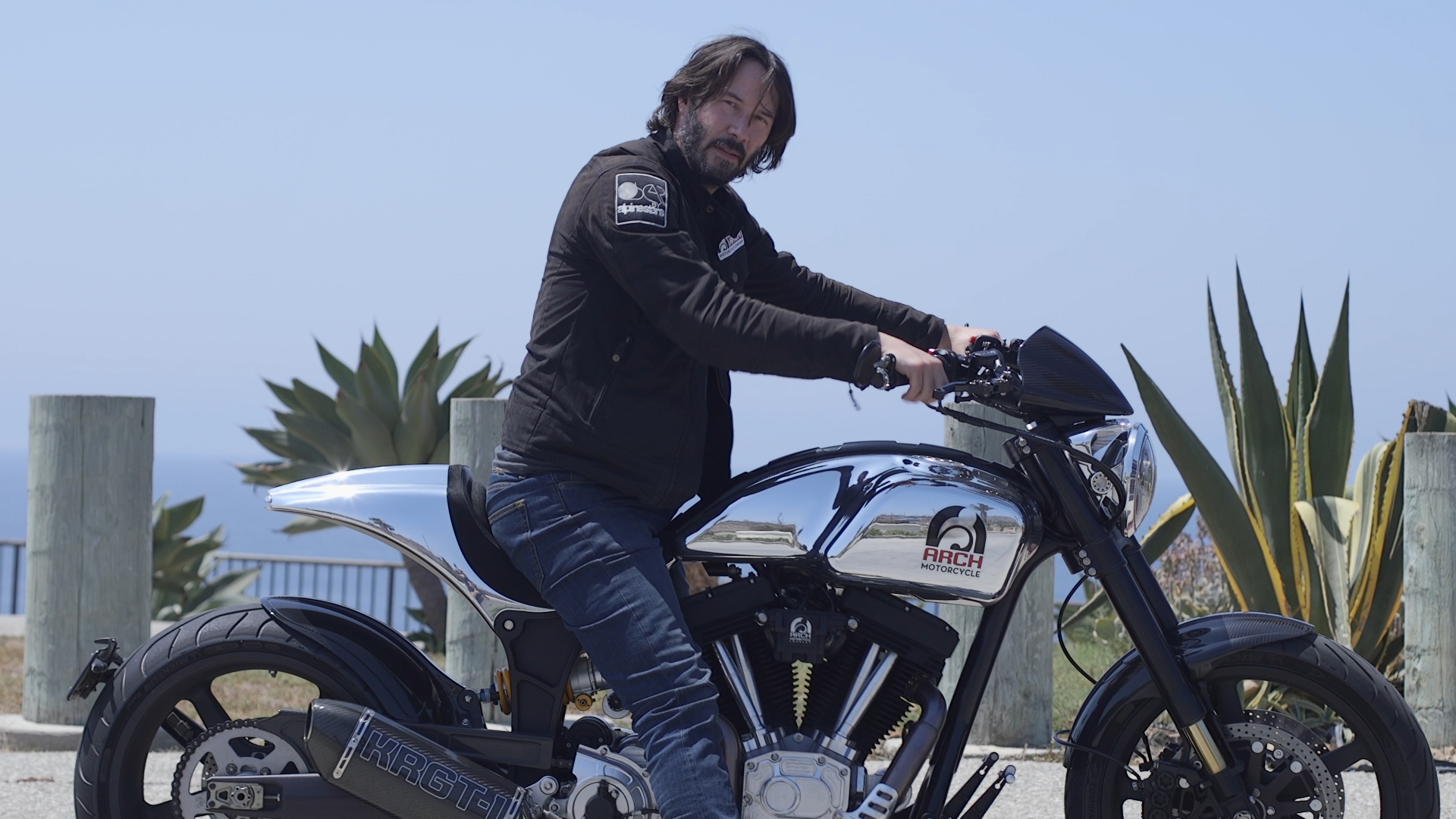 Keanu Reeves Will Build a $78,000 Arch Motorcycle Just for