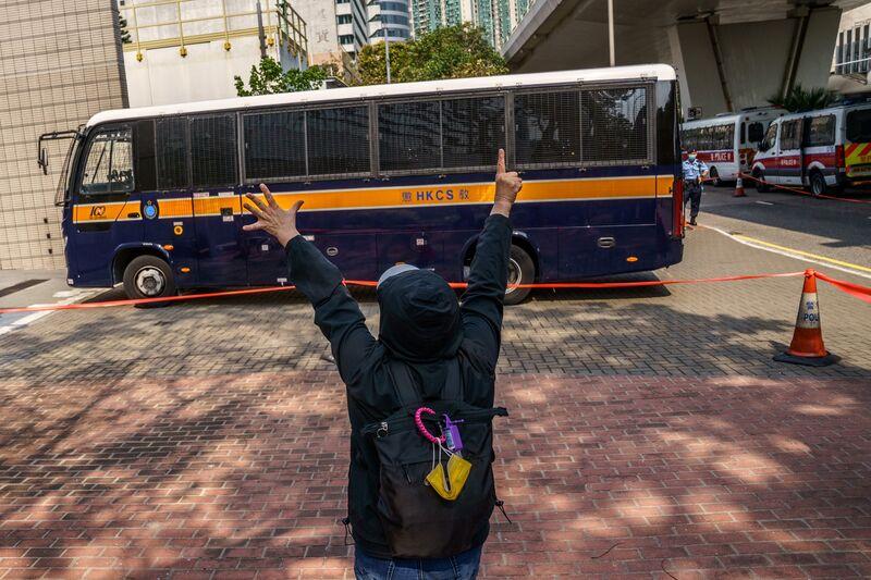 La audiencia de seguridad de Hong Kong se reanuda después del aplazamiento