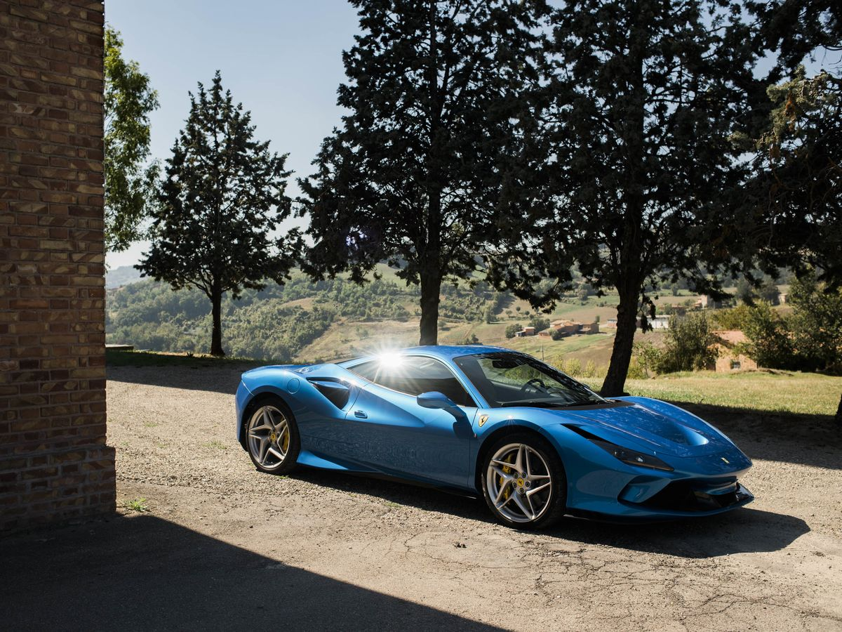 The Most Beautiful Ferrari in a Decade Pays Tribute to Race Cars Past