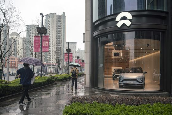 Nio Eyes U.S. Stock Sale in Biggest China Offering Since Didi