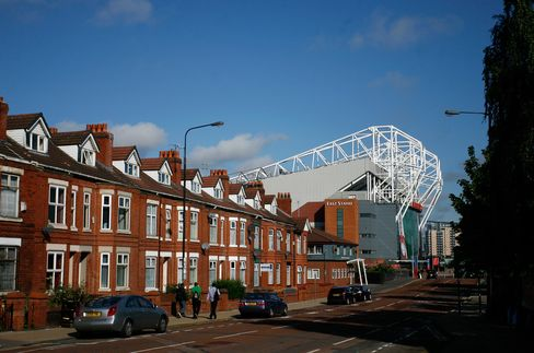 House Stand Alongside  The Old Trafford Stadium