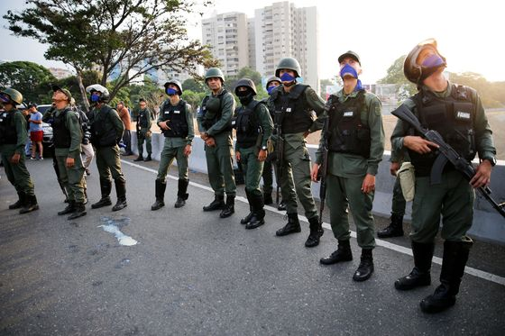 Venezuela's Guaido Claims Military Support to Take Power