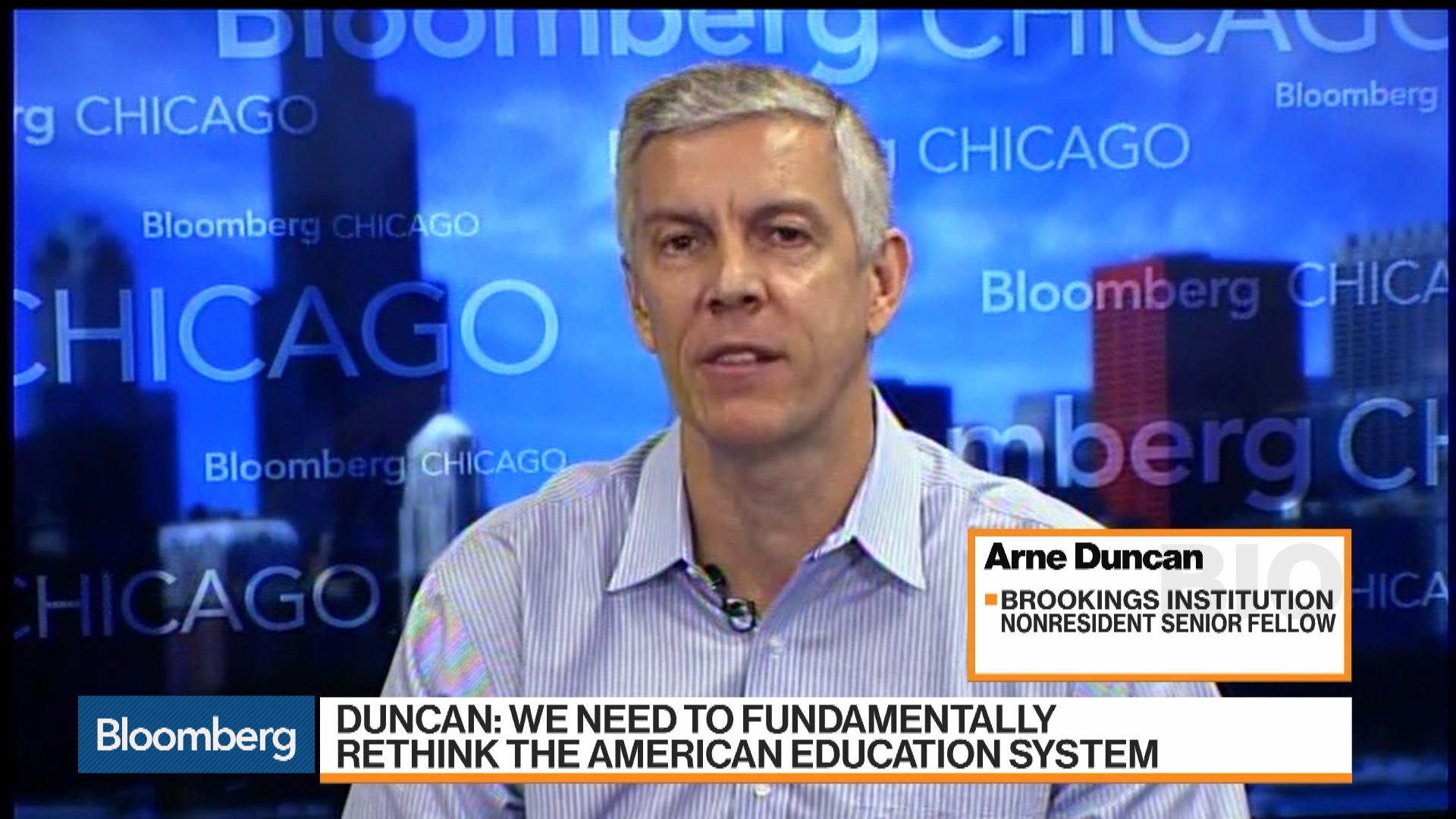 Arne Duncan on How AI Will Impact Future Jobs