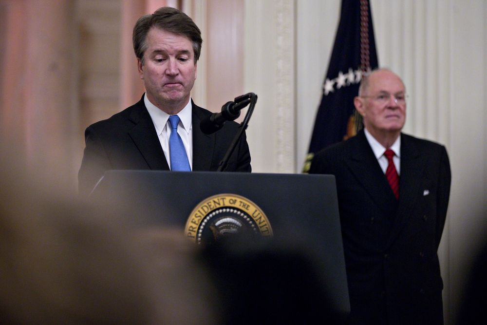 Kavanaugh Will Forgo Traditional Walk Down Supreme Court Steps