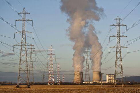Electricite de France SA's Nuclear Power Plant