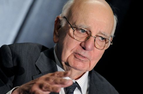 Former Chairman of the U.S. Federal Reserve Paul Volcker