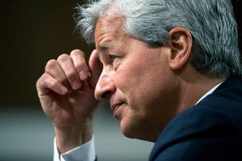 Jamie Dimon Plays From the Rough