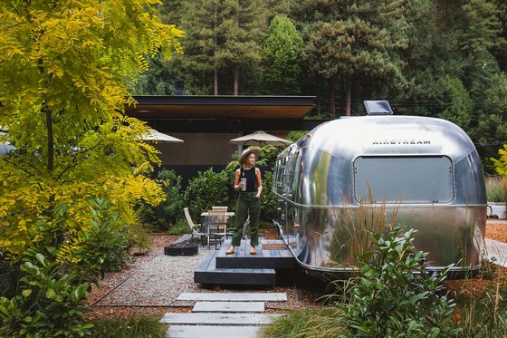 Airstream Hotel Chain Raises $115 Million in New Bet on Glamping