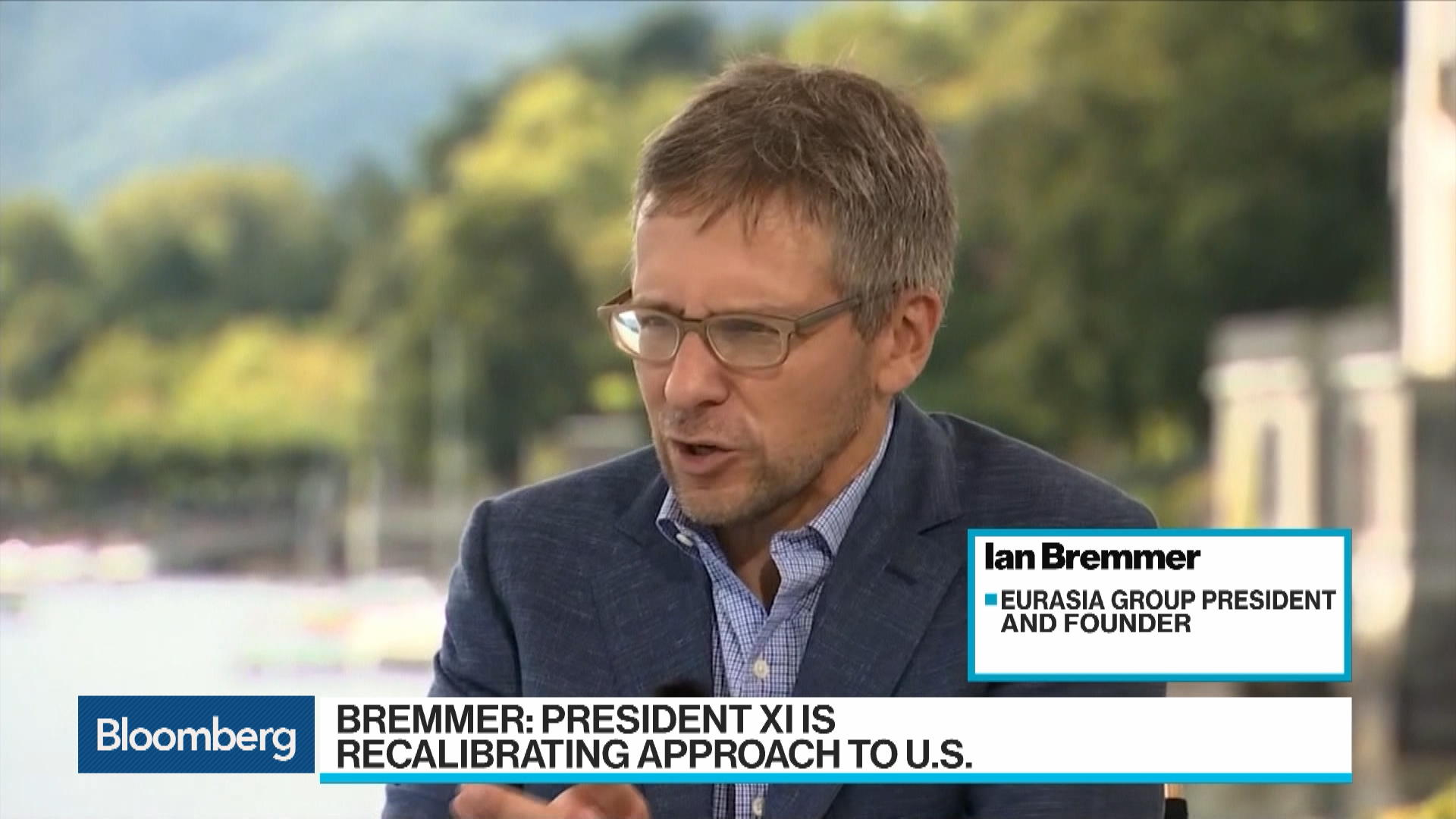 Xi Is `Recalibrating' China's U.S. Approach, Bremmer Says