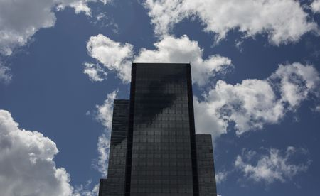 Amazon.com's new 500-foot-tall office tower.