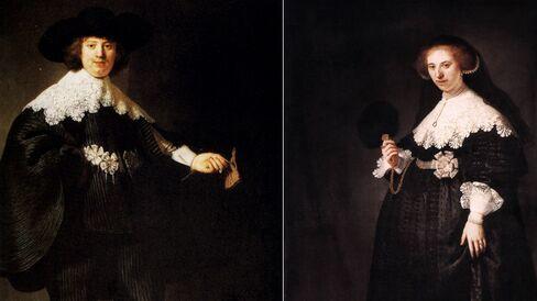 Maerten Soolmans and Oopjen Coppit by Rembrandt