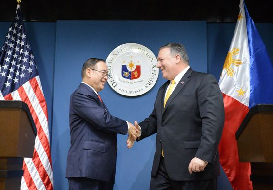 We Have Your Back in South China Sea, U.S. Assures Philippines