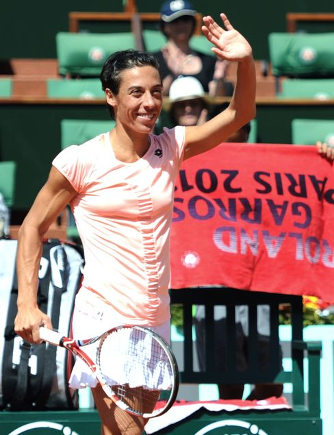 French Open Champion Schiavone Starts With Victory