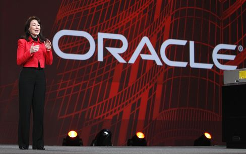 Oracle CFO Safra Catz