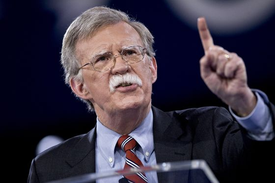 Bolton Emerges as Potential Spoiler for Trump's Kim Summit