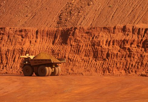 Fortescue Declines as Iron Ore Price Plunges