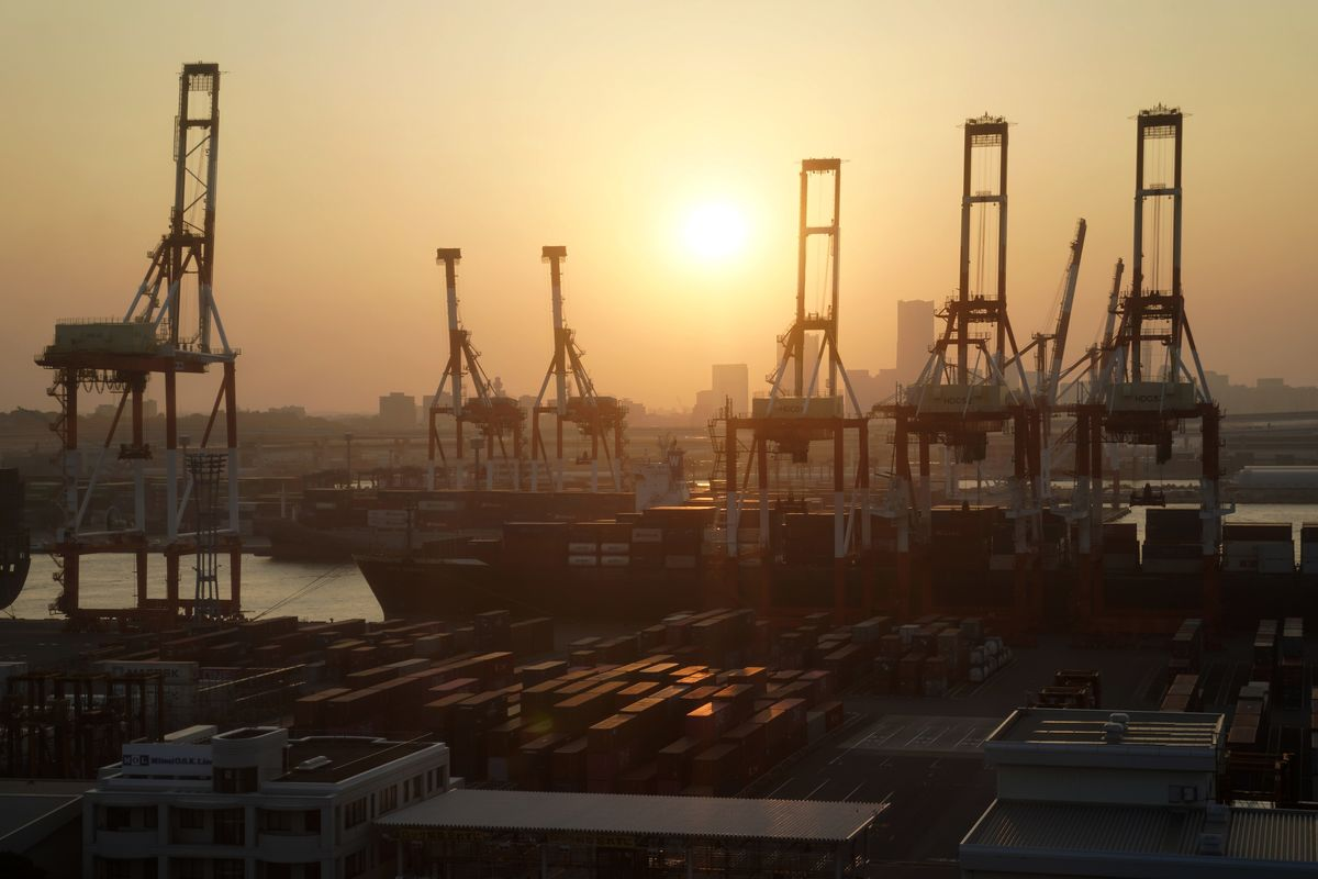 Japan's Exports Drop Most Since 2016 Amid Trade Wars and Typhoon