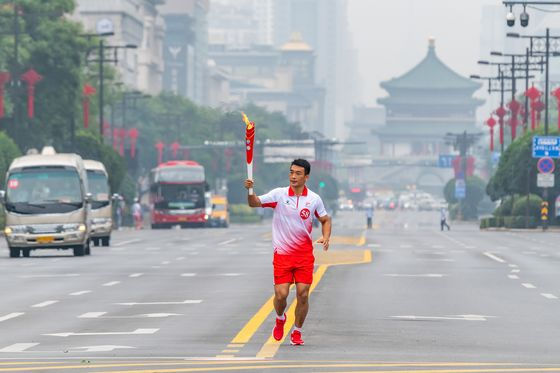 China Test-Drives Olympics Covid Restrictions at National Games