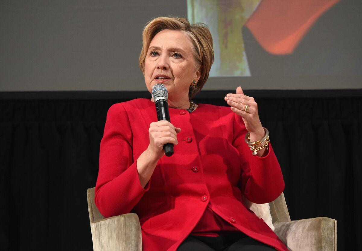 Hillary Clinton Says U.S. Didn't 'Deserve' Trump Presidency