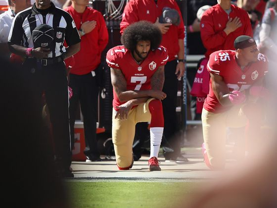 Colin Kaepernick Settles Blacklisting Lawsuit Against NFL