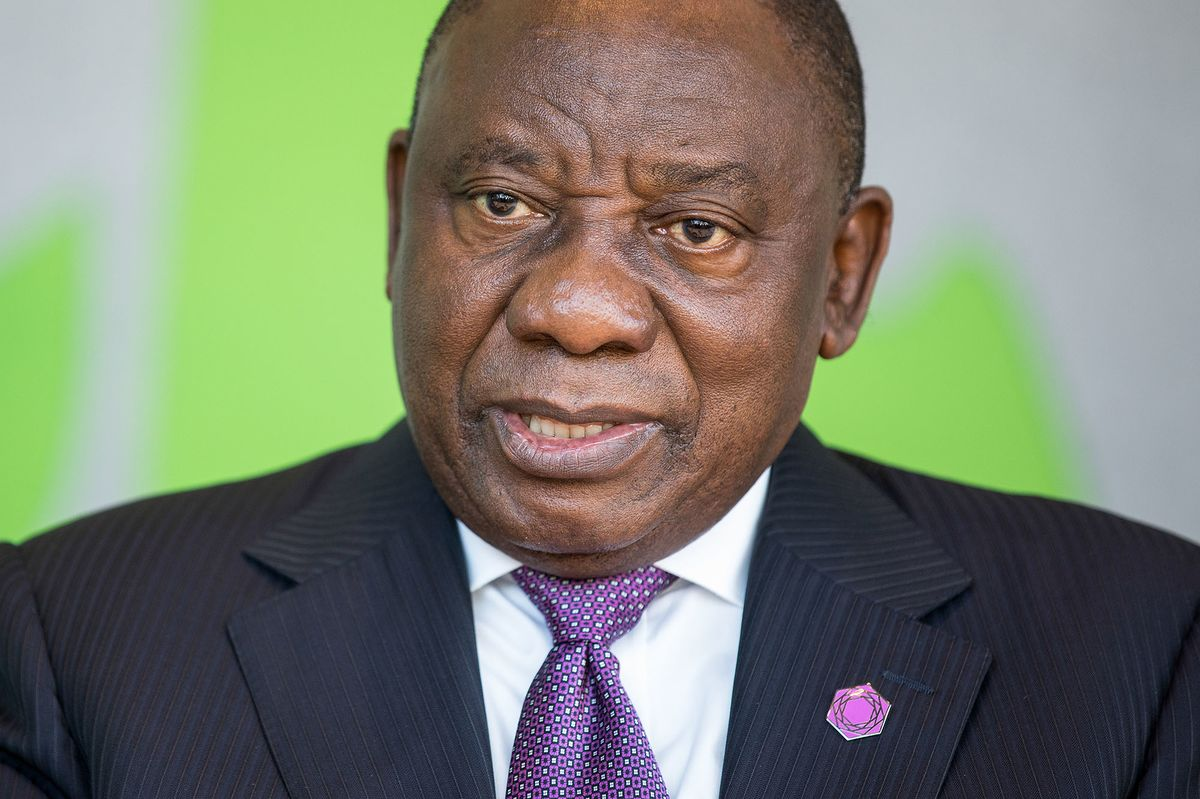 Ramaphosa takes a swipe at ANC members who are plotting to oust him