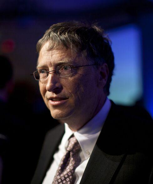 Microsoft Corp. Chairman Bill Gates