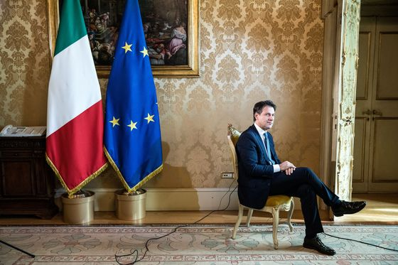 Italian Premier Checking for Market Rebound on Way to Kremlin