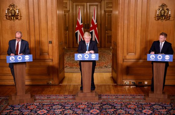 Johnson Considers Locking Down More of England to Curb Virus