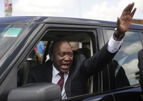 Kenya's President-Elect Uhuru Kenyatta