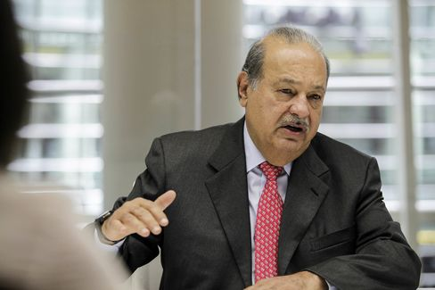 Billionaire & America Movil SAB Chairman Carlos Slim Interview