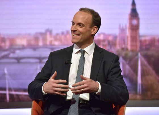 Raab Hints at Flexibility Over Brexit Red Line