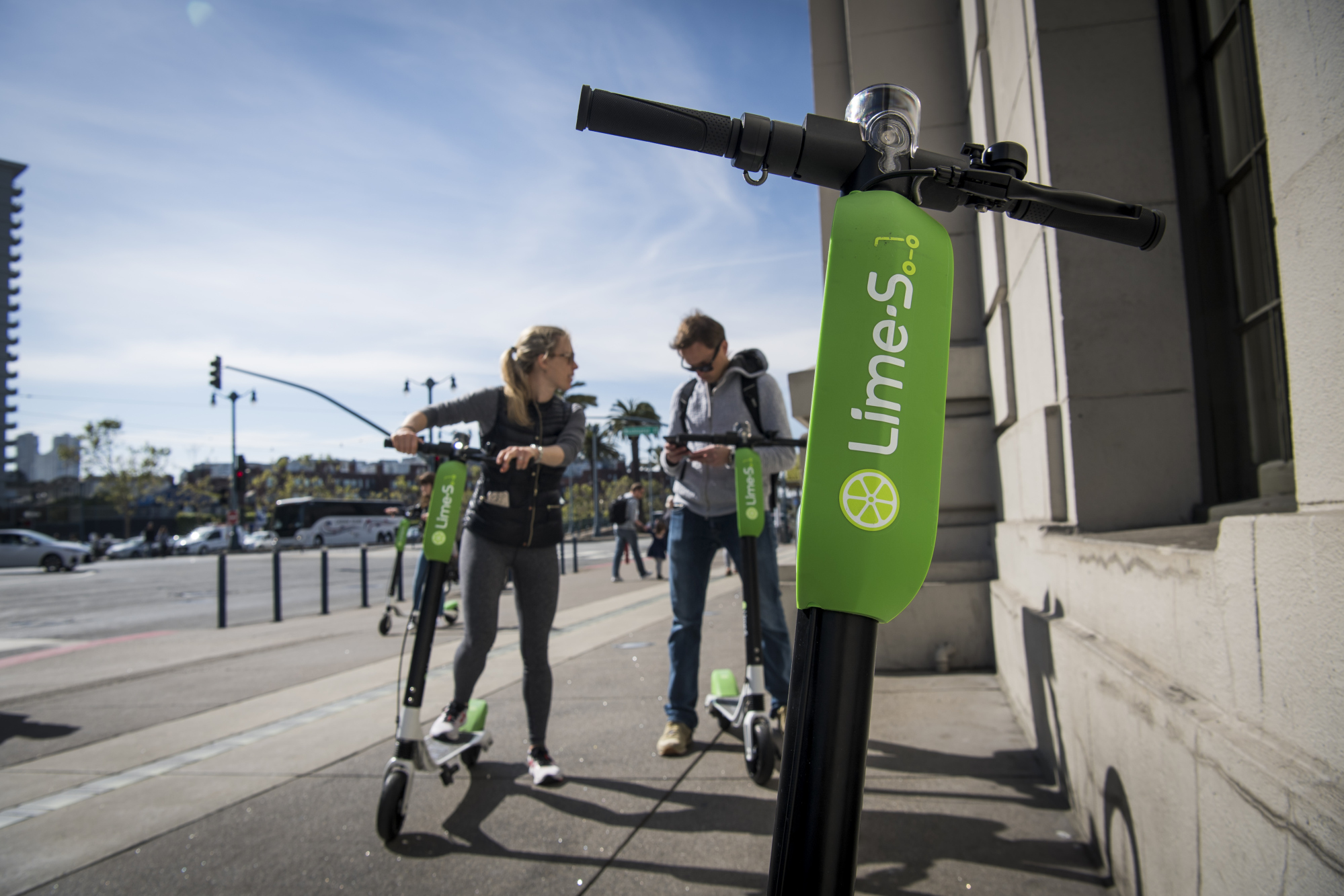 Scooter Rental San Francisco >> Lime Accuses San Francisco Of Scooter Discrimination Bloomberg