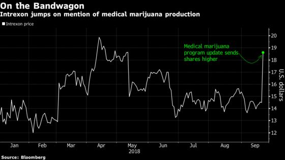 Intrexon, Once a Fighter of Zika, Pivots to Join Pot Mania